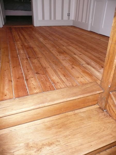palier en sapin et escalier en ch ne jean paul coupet. Black Bedroom Furniture Sets. Home Design Ideas